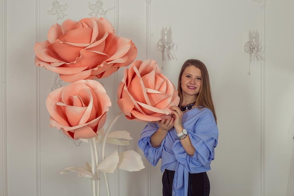 Большие цветы купить в новосибирске, живых цветов